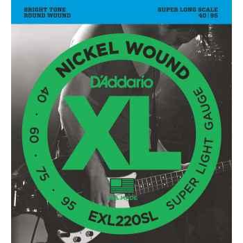 D´addario EXL220SL Super Long Scale cuerdas para bajo